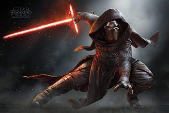 Plakat Gwiezdne wojny, część VII : Przebudzenie Mocy - Kylo Ren Crouch