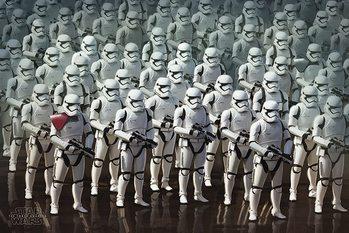 Plakat Gwiezdne wojny, część VII : Przebudzenie Mocy - Stormtrooper Army