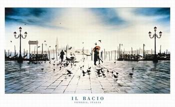 Plakát Il Bacio - venezia, italy