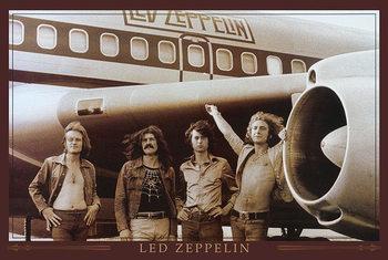 Plakat Led Zeppelin - Flugzeug