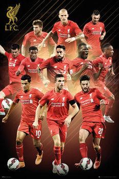Plakát Liverpool FC - Players 15/16