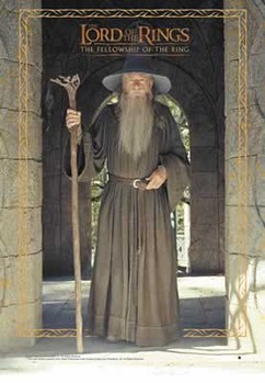 Plakat LORD OF THE RINGS - gandalf