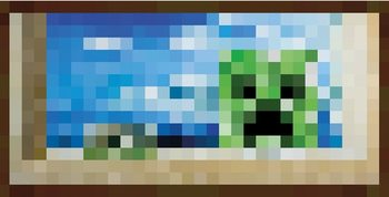 Plakát Minecraft - Okno