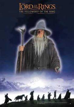 Plakát Pán Prstenů - The Fellowship