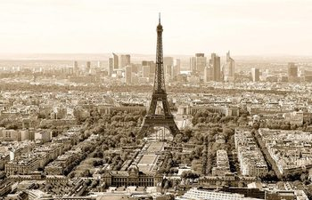 Plakat Paryz - sepia