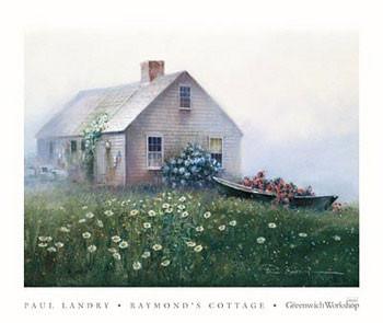Reprodukcja Raymond's Cottage