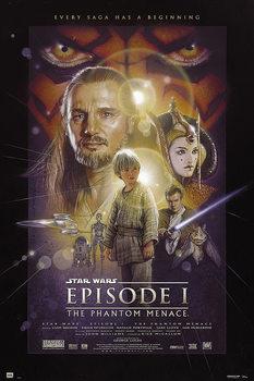 Plakát Star Wars: Epizoda I - Skrytá hrozba