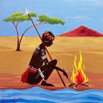Reprodukcja The Fire