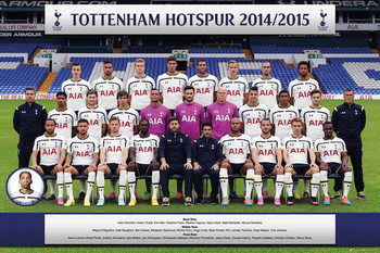 Plakát Tottenham Hotspur FC - Team Photo 14/15