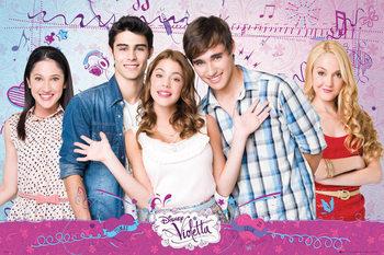 Plakat VIOLETTA - Cast