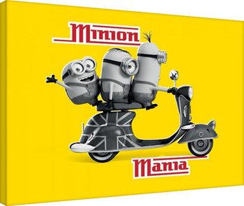 Minions - Minion Mania Yellow  Slika na platnu