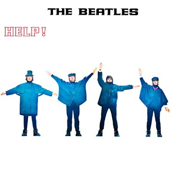 HELP! ALBUM COVER Plåtskyltar
