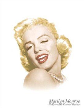 Plechová cedule Marylin Monroe - Eternal Beauty