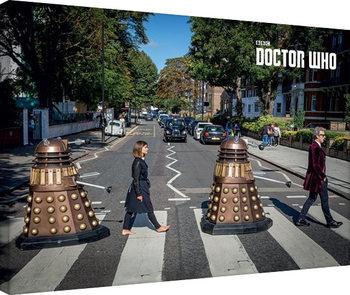 Doctor Who - Abbey Road Obraz na płótnie