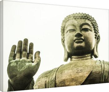 Tim Martin - Tian Tan Buddha, Hong Kong Obraz na płótnie