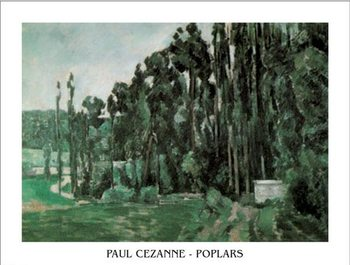 Poplars Reproduction d'art
