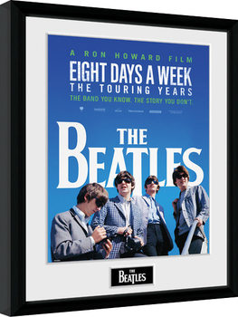 The Beatles - Movie Inramad poster