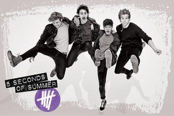 5 Seconds of Summer - Jump Poster / Kunst Poster