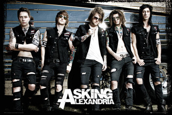 Poster Asking Alexandria - bus