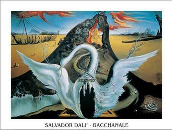 Bacchanale, 1939 Kunstdruk