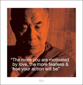 Dalai Lama - Quote Kunstdruk