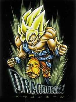 Póster Dragonball Z - Son Goku, blond hair