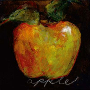 Green Apple Kunstdruk