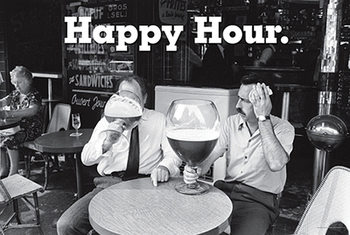 Póster Happy Hour