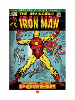 Iron Man  Kunstdruk