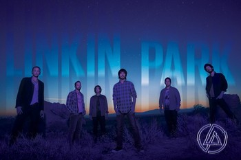 Poster Linkin Park - dark