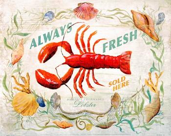 Lobster Poster / Kunst Poster