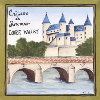 Loire Valley Poster / Kunst Poster