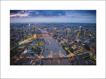 Londen - Jason Hawkes Kunstdruk
