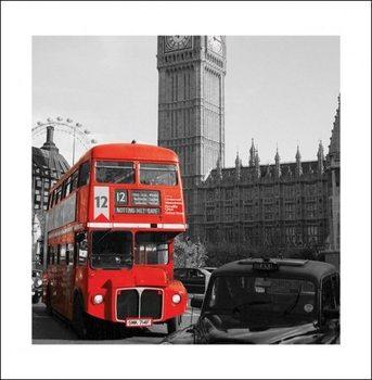 Londen - Westminster Kunstdruk