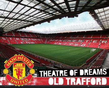 Manchester United FC - Inside Old Trafford S.O.S Poster / Kunst Poster