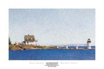 MARSHALL POINT Kunstdruk