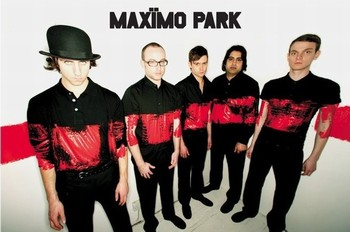 Poster Maximo park - paint