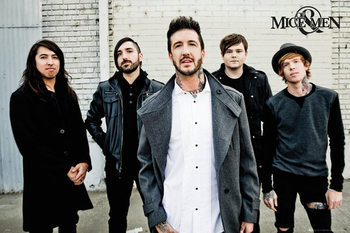 Poster Of Mice and men - Band
