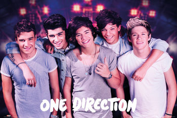 Poster One Direction - on stage