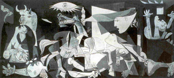 Poster Pablo Picasso - guernica