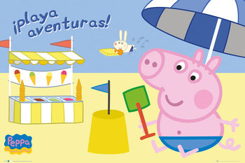 Poster PEPPA WUTZ - PEPPA PIG - Seaside Adventure