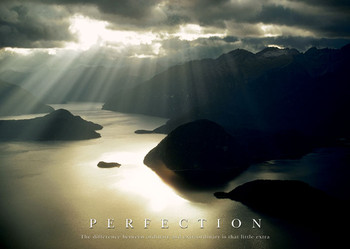 PERFECTION - sunshine Poster / Kunst Poster