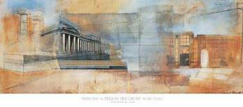 Perspective I Poster / Kunst Poster