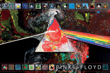 Poster Pink Floyd - 40th Anniversary