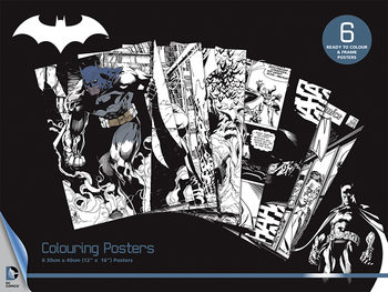 Posters para colorear DC Comics - Batman