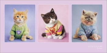 Rachael Hale - Kitty Couture Kunstdruk