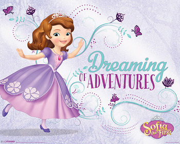 Póster Sofia the First - Dreaming