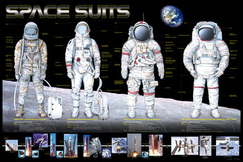 Space suits poster, Immagini, Foto