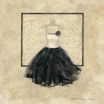 TAKE ME DANCING III - black and white Kunstdruk