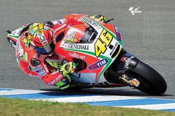 Póster Valentino Rossi- Moto GP